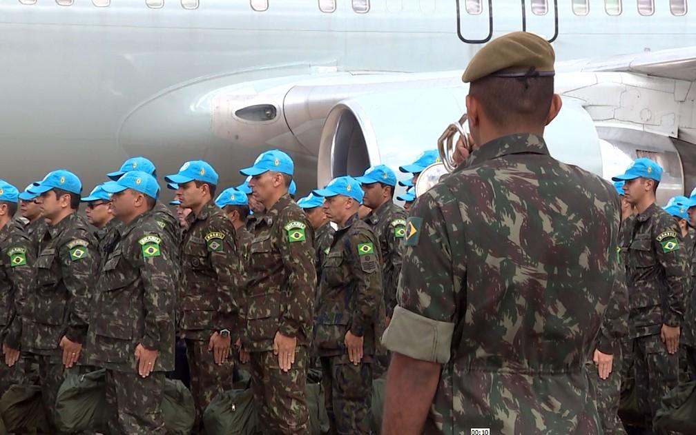 Pandemia complica rotina de brasileiros em missões de paz no exterior