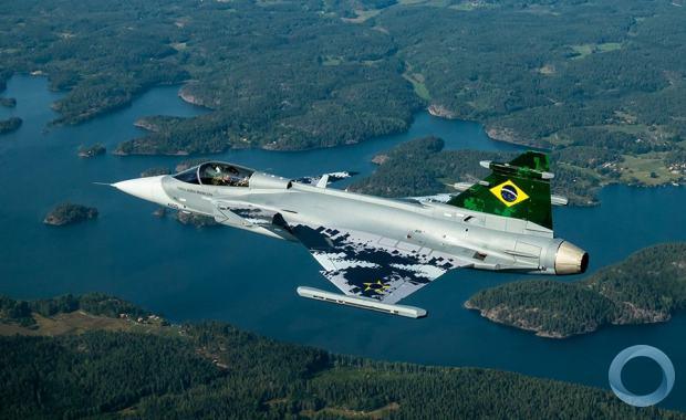 """Localização das bases do """"Gripen"""": uma visualização"""