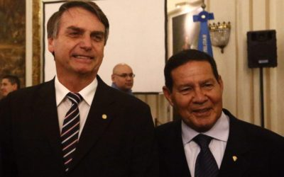 Mourão repudia editorial da Folha e faz apelo a moderação da imprensa