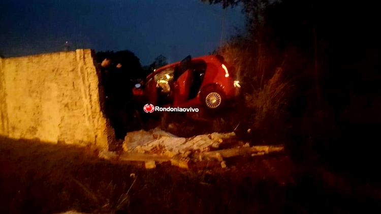 Embriagado,motorista é preso após destruir muro da Base Aérea em Rondônia