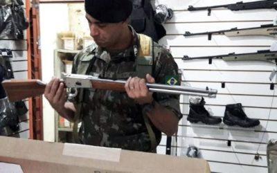 Exército apreende nove armas e 10 mil munições em operação com alvos em MS