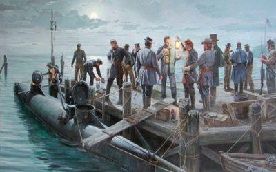 Guerra de Secessão: o claustrofóbico submarino dos confederados