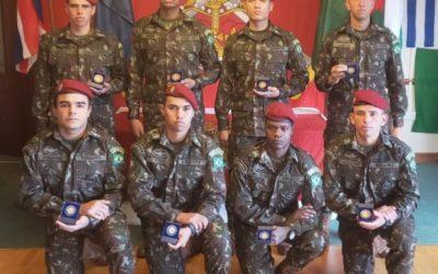 Milicos raiz: equipe do Exército é terceira colocada e competição no Reino Unido