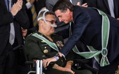 Bolsonaro visita Villas Bôas