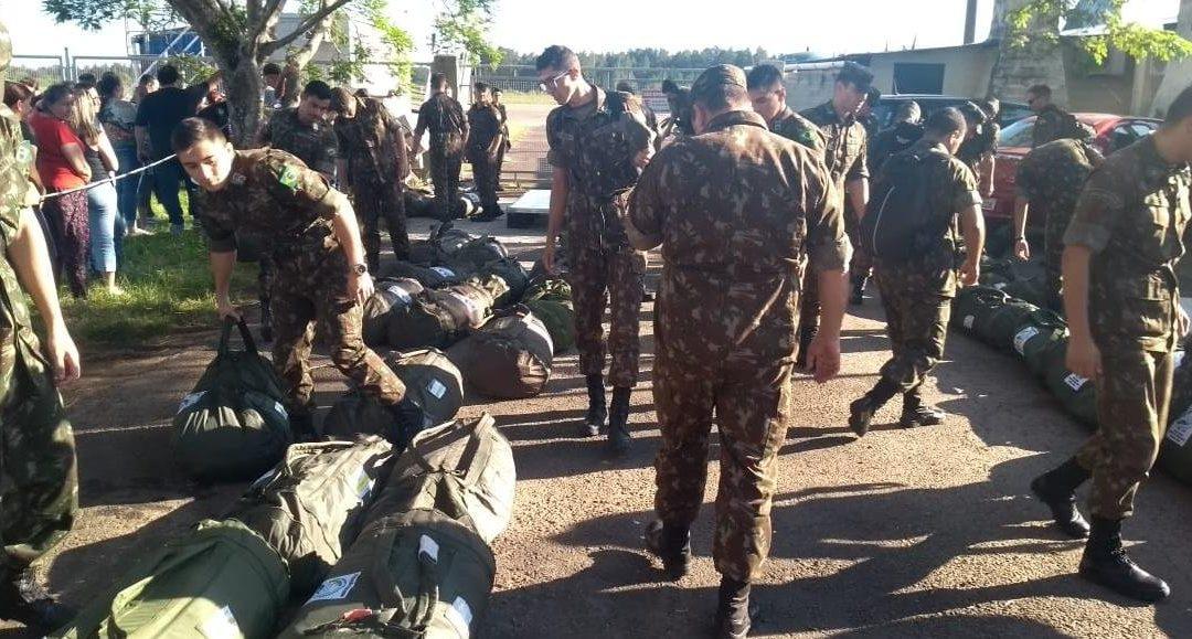 Militares em missão na fronteira com a Venezuela voltam ao RS