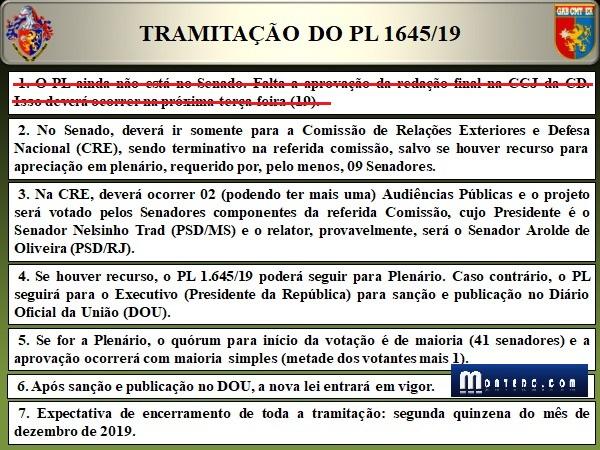 """""""Cola"""" para acompanhar o PL 1645/19"""