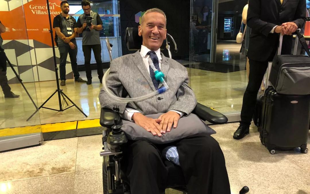 'Começo hoje a minha mais nova missão', diz general Villas Bôas sobre instituto para portadores de doenças raras