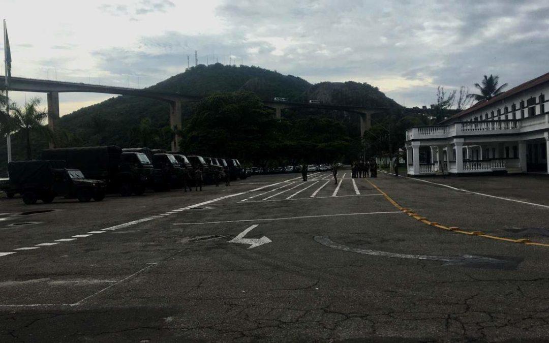 Mão Amiga: Exército socorre cidades atingidas pelas chuvas no Espírito Santo