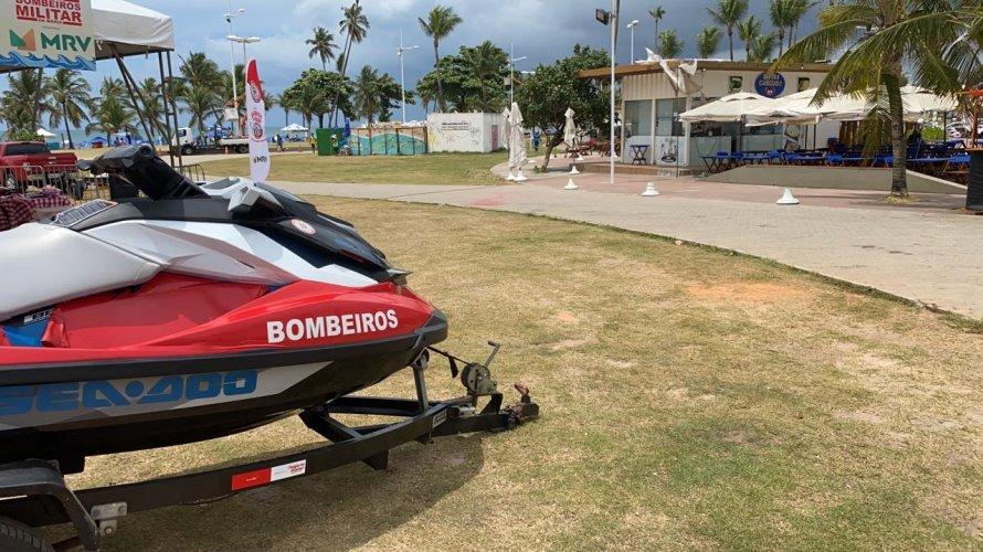 Subtenente do Exército desaparece ao tomar banho de mar em Salvador