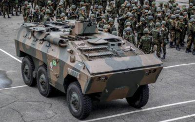 CE: Forças Armadas atuam com blindados e helicópteros em ações durante o Carnaval