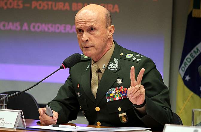 General vai ser o embaixador do Brasil em Israel