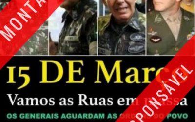 Santos Cruz esclarece: crítica foi ao uso da imagem de generais