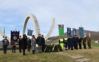 Italianos homenageiam a FEB com cerimônia em Monte Castelo