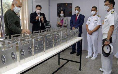 USP e Marinha se preparam para produzir respiradores em 2 horas
