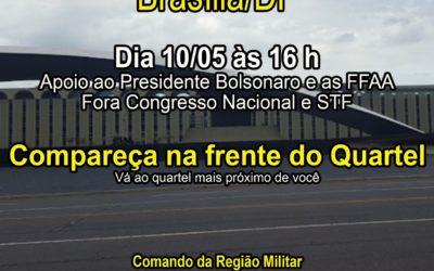 Bolsonaristas convocam manifestação em frente a quarteis de todo o Brasil