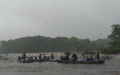 Troca da guarda na Amazônia é assim!