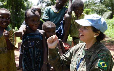 Militar brasileira ganha prêmio da ONU