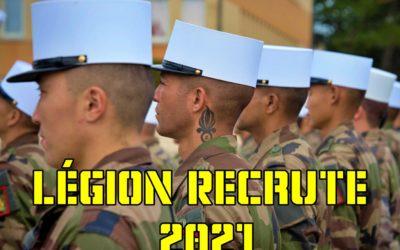 Legião Estrangeira Francesa anuncia 1.300 vagas para 2021