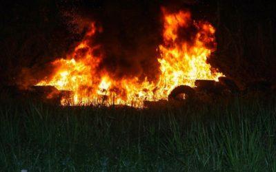 Estande de tiro do Exército incendeia durante treinamento no Acre