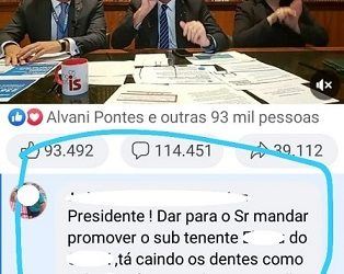 Quebra o galho do Subão, Presidente!