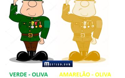 Exército aprova mudança da cor do uniforme