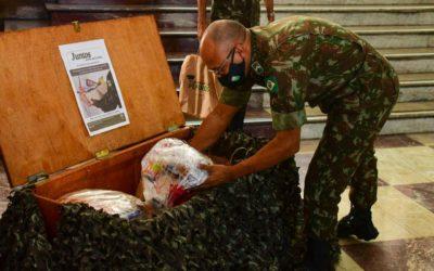 Mão amiga: campanha de arrecadação do Exército beneficia mais de 32 mil famílias em três estados
