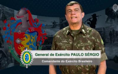 Exército determina que mensagem do Comandante seja exibida a todos os militares da Força