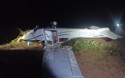 Caça da FAB intercepta e derruba aeronave no norte do Mato Grosso