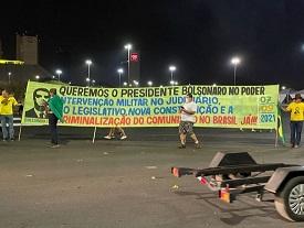 GSI vê risco em participação de Bolsonaro em manifestação amanhã
