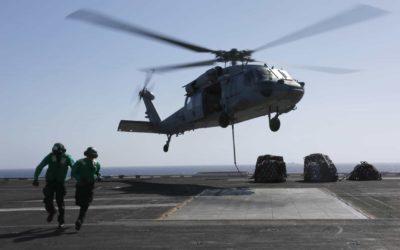 Cinco militares americanos estão desaparecidos após queda de helicóptero no Pacífico