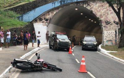 BA: soldado do Exército morre em acidente de moto em Salvador